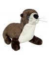 Pluche rivierotter knuffel 33 cm