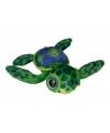Pluche schildpad groen 39 cm