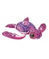 Pluche schildpad roze 39 cm