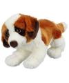 Pluche sint bernard hond knuffel 26 cm