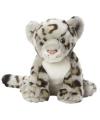 Pluche sneeuw luipaard 22 cm