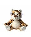 Pluche tijger knuffel 23 cm
