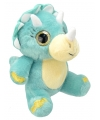 Pluche triceratops knuffel 19 cm
