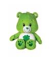 Pluche troetelbeertje groen 22 cm