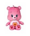 Pluche troetelbeertje licht roze 22 cm