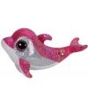 Pluche ty beanie dolfijn sparkles 42 cm