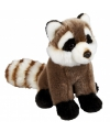 Pluche wasbeer knuffel 23 cm