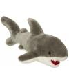 Pluche witte haai 45 cm