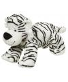 Pluche witte tijger 22 cm