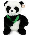 Pluche zittende panda knuffel 28 cm