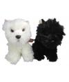 Pluche zwarte terrier 25 cm