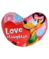 Pluto hart kussen 45 cm