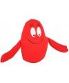 Rode barbapapa knuffel 18 cm