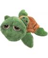 Schildpad knuffel met baby 29 cm