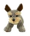 Staande welsh terrier knuffel hond 30 cm