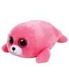 Ty beanie boo s pierre pluche roze zeehond knuffel 15 cm