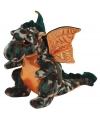 Ty beanie knuffel draak camouflage 15 cm