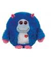 Ty beanie knuffel monster jerry 24 cm