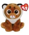 Ty beanie knuffel tijger 15 cm