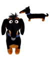 Ty beanie teckel knuffel hond zwart 25 cm