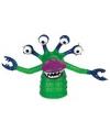 Vingerpopje groen monster 5 cm