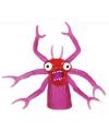 Vingerpopje paars monster 5 cm