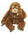 Wnf pluche orang utan met baby