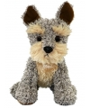 Zittende welsh terrier knuffel hond 21 cm