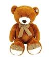 Grote pluche knuffel beer bruin 100 cm