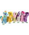 My little pony pluche knuffel rainbow dash 27 cm