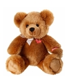 Pluche bruine beer knuffel zittend 40 cm
