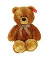 Pluche knuffel beer goudbruin 70 cm