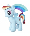Pluche my little pony knuffel rainbow dash 25 cm