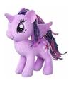 Pluche my little pony knuffel twilight sparkle 25 cm