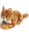 Pluche rode poes kat knuffel 30 cm